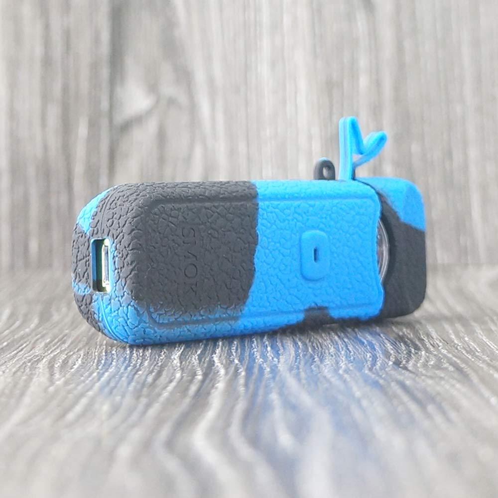 CEOKS for Smok Nord Case Black//Blue Anti-Slip Silicone protective Case Skin Rubber Cover for Smok Nord Pod Kit Mod Silicone Texture Case skin wrap Shield