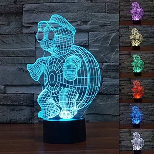 Turtle Led Night Light