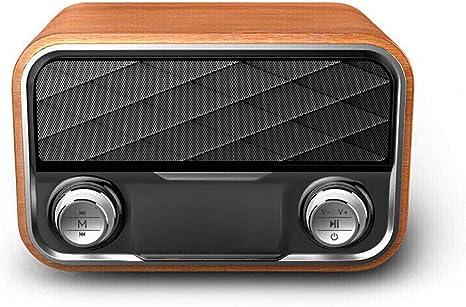 Altavoz Bluetooth Retro de Radio Vintage, Antena de ...