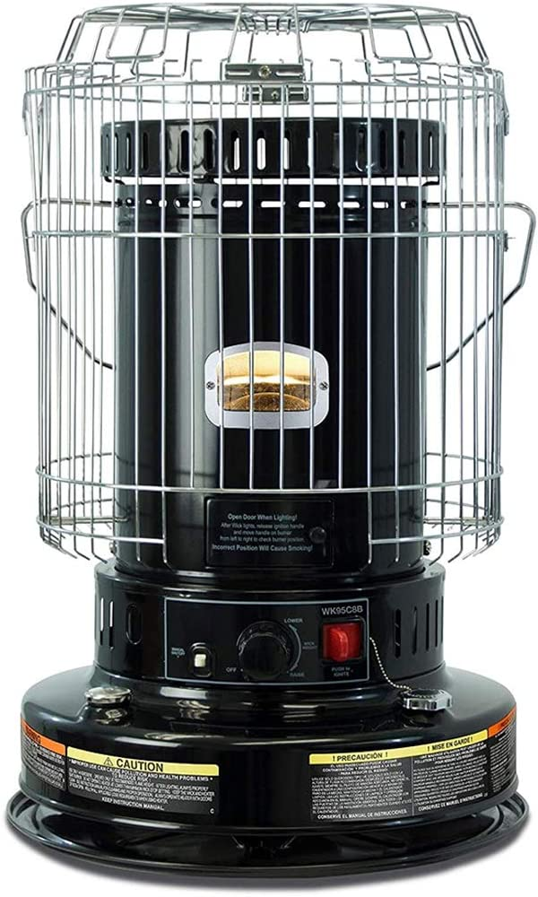 23,800 BTU Convection Kerosene Heater for Home and Camping, Indoor Space Heaters