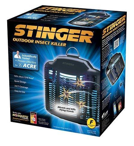 Stinger 1/2 Acre Outdoor Bug - Stinger 1/2 Acre Flat Panel Zapper - 3 PACK