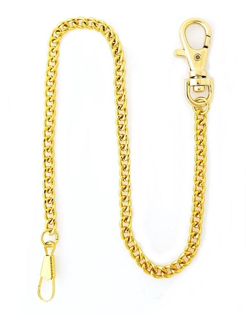 Desperado Heavy Duty Gold Plated Pocket Watch Chain