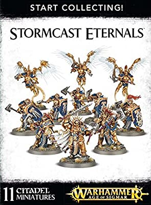 Warhammer Age of Sigmar Start Collecting! Stormcast Eternals from Games Workshop