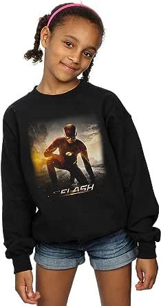 DC Comics Niñas The Flash Future Road Camisa De Entrenamiento