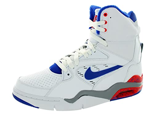 new arrivals d3dfa 94a7b Nike Men s Air Command Force White Lyn Bl Brght Crmsn WLF G Basketball