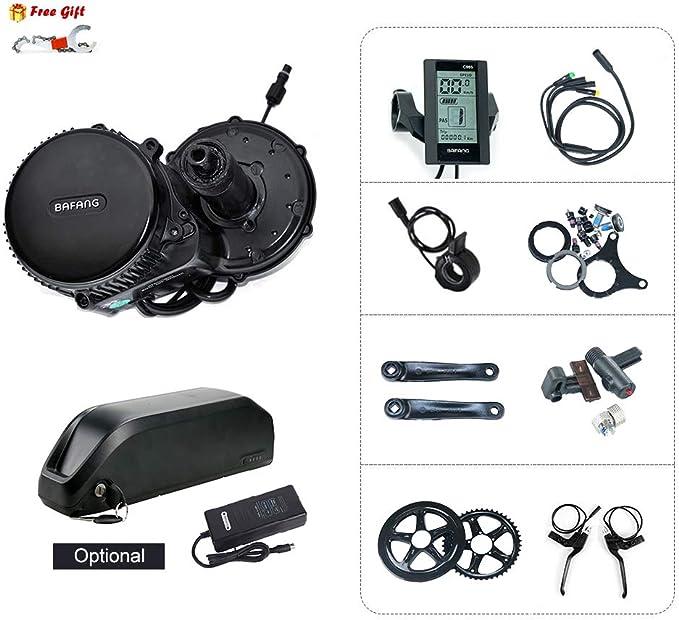 BAFANG BBS02 - Motor eléctrico para bicicleta (500 W, 36 V, con pantalla LCD C965/DP-C18): Amazon.es: Deportes y aire libre