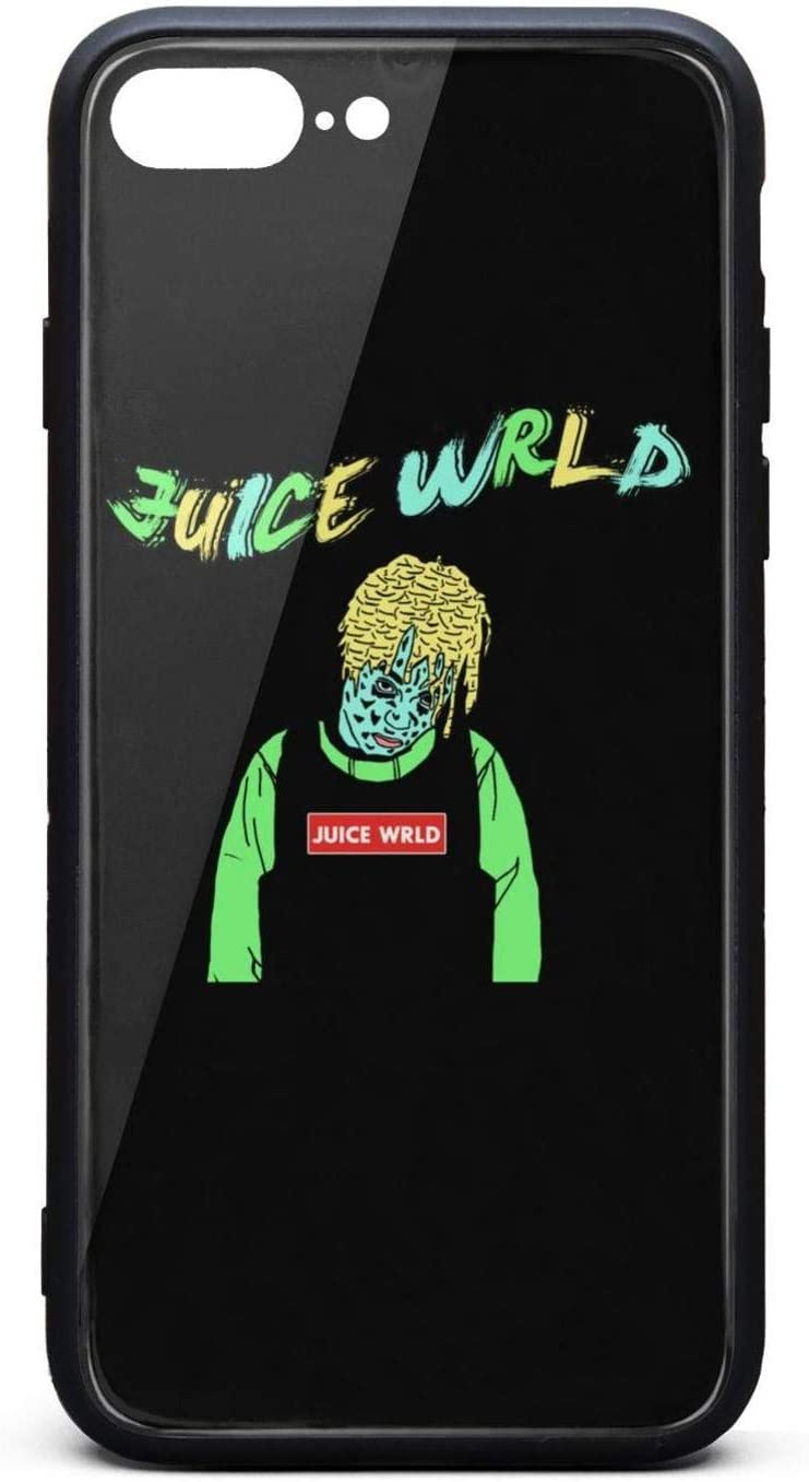 Amazon Com Iphone 7 Plus Iphone 8 Plus Case Juice Wrld Wallpaper Shockproof Tempered Glass Back Cover Soft Tpu Bumper Shell For Iphone 7 Plus Iphone 8 Plus