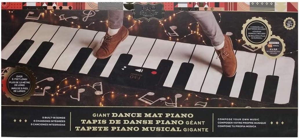 FAOSchwarz Giant Piano Mat- 69 W x 31 L