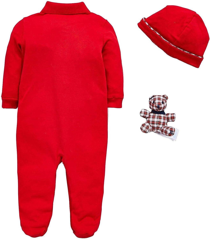 Ralph Lauren - Conjunto - para bebé niño Rojo rosso 6 Meses ...