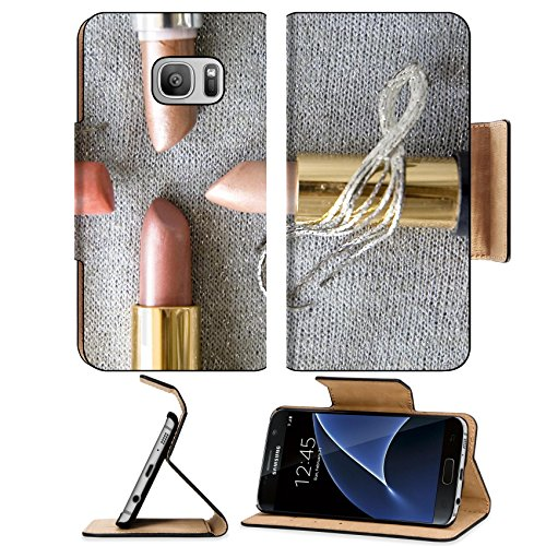 msd-premium-samsung-galaxy-s7-flip-pu-leather-wallet-case-image-35578134-four-pink-shade-lipstick-on
