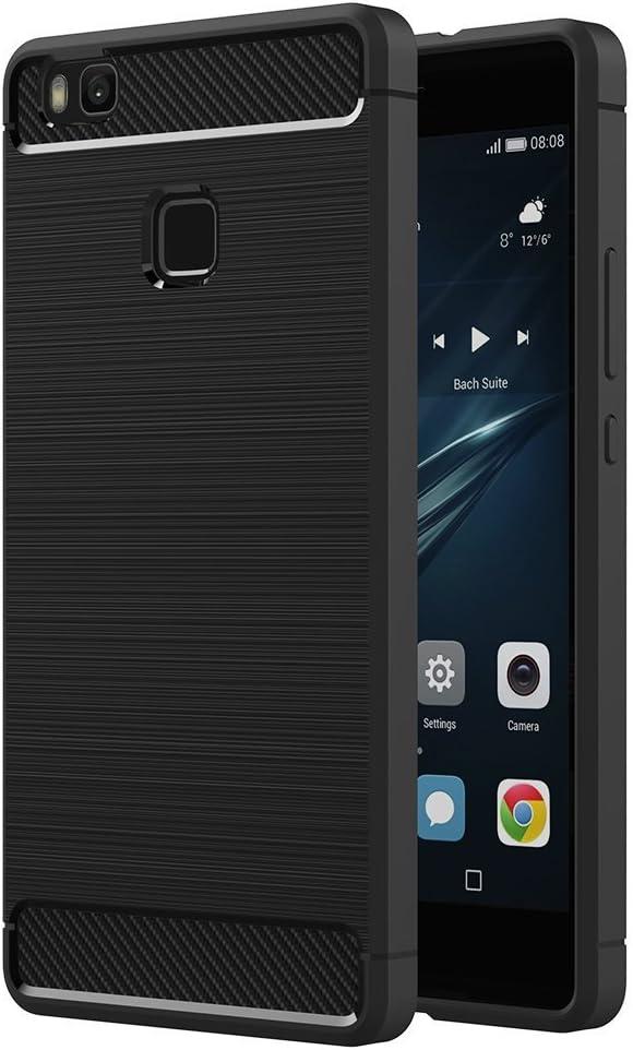 Funda para Huawei P9 Lite (5,2 Pulgadas) TPU Silicona Carcasa ...