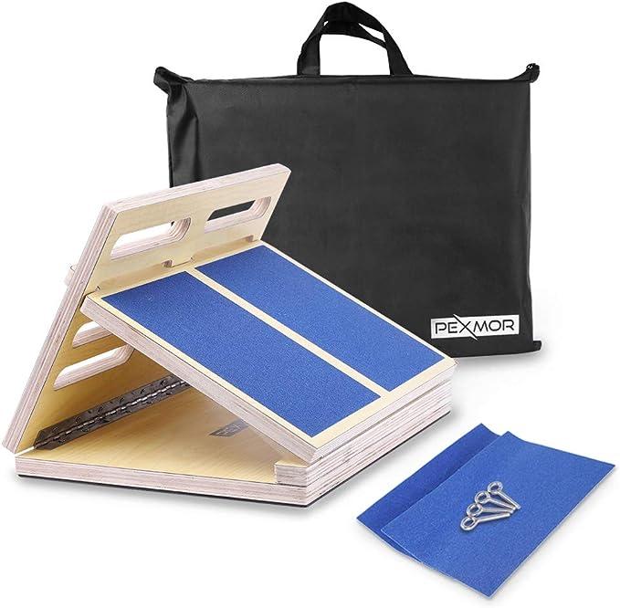 CC/_ Portable Anti-Slip Slant Board-Adjustable Incline Boards-Calf Stretch Board