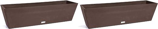 Veradek Brooklyn Planter - 2 Pack (36 inches, Espresso)