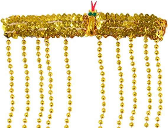 COPRICAPO CLEOPATRA 3289Y ACCESSORIO EGIZIANA EGITTO EGIZI EGIZIO SERPENTE ORO