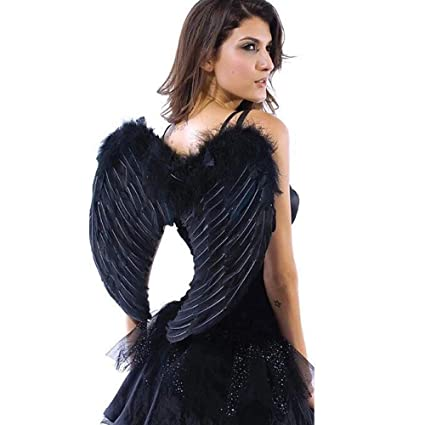 Amazon Aishn Angel Wings Feather Cosplay Halloween Party