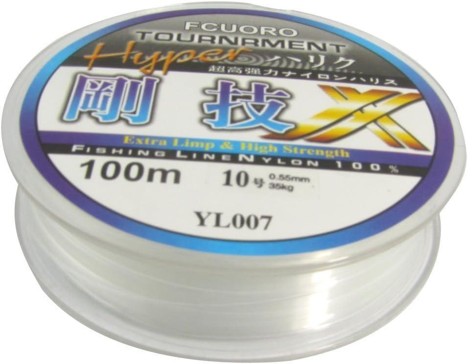 TOOGOO (R) 10# 0.55mm Diametro 100M Hilo 23Kg 77.1lb Carrete de Sedal Linea de Pesca: Amazon.es: Deportes y aire libre