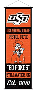 Oklahoma State Cowboys Banner and Scroll Sign