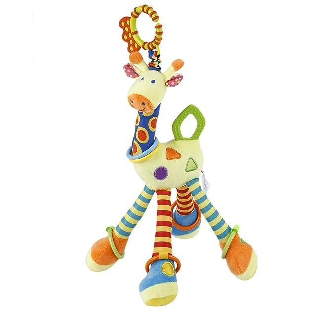 19 opinioni per YKS Peluche della Giraffa Animale del Bambino Peluche Developmental Giocattolo