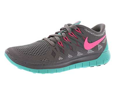 Nike Free 5.0 2014 Womens Shoes Cool Grey  Jade  Pink ...