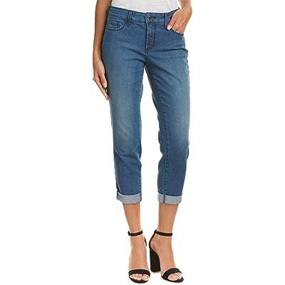 NYDJ Women's Petite Size Jessica Relaxed Boyfriend Jeans in Premium Lightweight Denim: Clothing