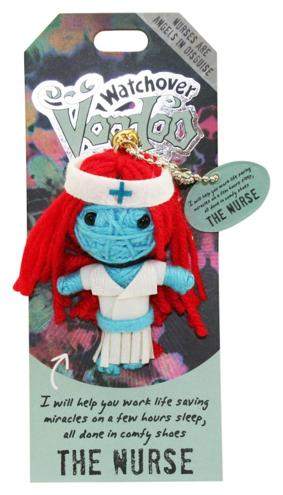 "GOOD LUCK   3/"" New Lucky Charm Watchover Voodoo Doll"