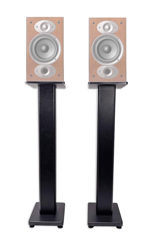 ペアBookshelf Speaker Stands for Polk Audio RTi a3本棚スピーカー B07F9R3WTK