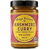 Maya Kaimal Kashmiri Curry Sauce, 12.5 oz, Mild Indian Simmer Sauce with Tomato and Nutmeg. Vegan, Gluten Free, Non-GMO…