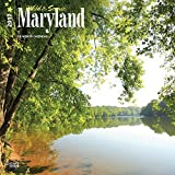 Maryland, Wild & Scenic 2017 Square (Multilingual Edition) by BrownTrout (2016-06-25)