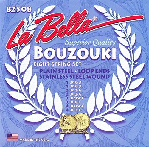 - LaBella BZ508 Stainless Steel Mandolin Strings, Custom