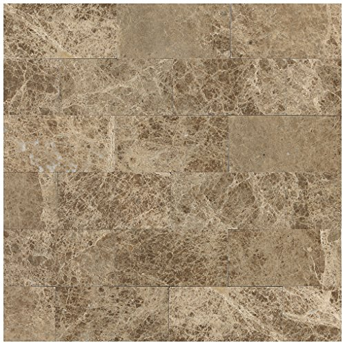 Dal-Tile M712361U- Marble Tile, Emperador Light Honed