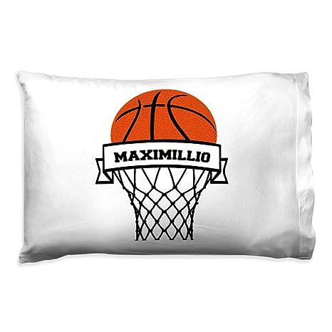 Amazon.com: Personalizado aro de baloncesto Funda de ...