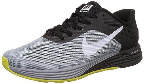 17e3fa7cbb8 Nike Men s Lunarlaunch Grey Black Running Sport Shoes - 6 UK  Buy ...