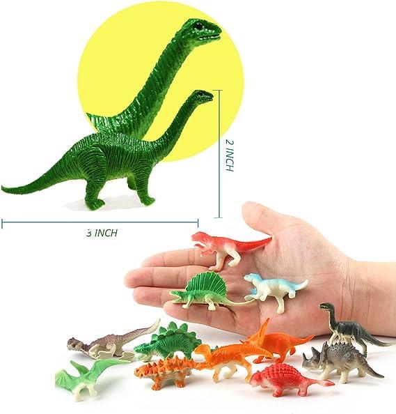 Land Animal Mini Figures Set Dig