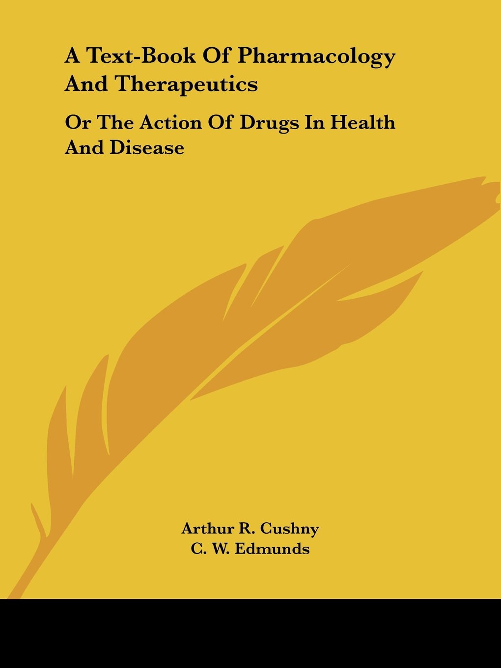 A Text-Book Of Pharmacology And Therapeutics: Or The Action Of Drugs In Health And Disease ebook