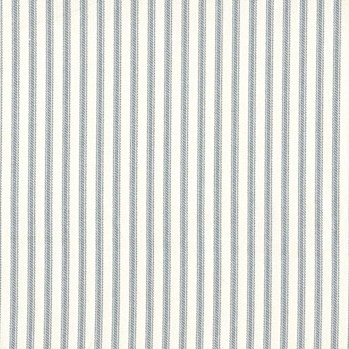 Ticking Stripe Panel (French Country Dove Gray Ticking Stripe 96