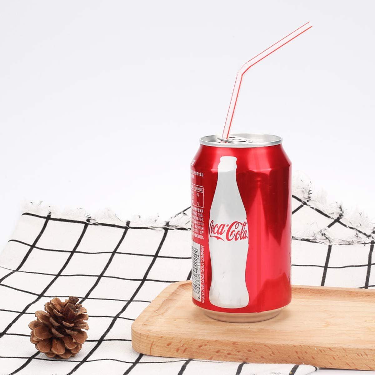 bares y tiendas de bebidas pajitas de pl/ástico flexibles para el hogar 200 unidades 20 cm Pajitas desechables flexibles fiestas