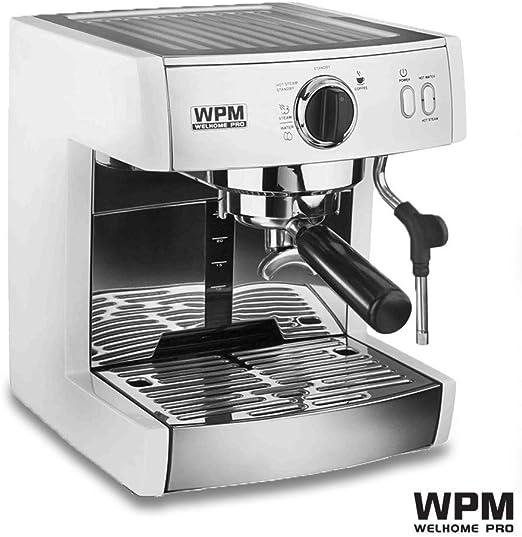 KOUDAG Cafetera 220V-240v Máquina de café semiautomática Profesional de una Sola Bomba Cafetera Espresso cafetera 130 Espresso: Amazon.es: Hogar