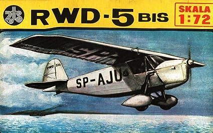 Amazon.com: ZTS 1:72 RWD-5 Bis - Kit de modelo de avión de ...