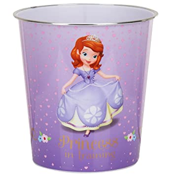 Amazon.com: Sofia The First Princess In Training Wastebasket: Kitchen U0026  Dining