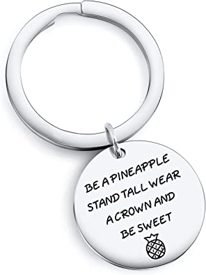 TzrNhm Blossom Inspirational Jewelry for Girls Gift BE A Pineapple Stand Tall WEAR A Crown and BE Sweet Bracelet