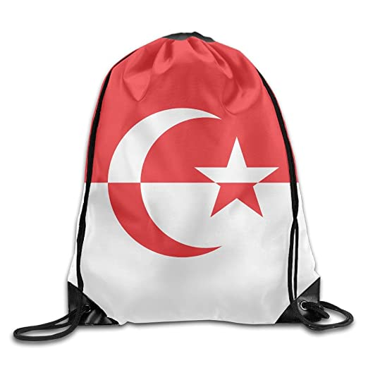 1c1fd54f05d Indonesia Flag Personalized Gym Drawstring Bags Travel Backpack Tote School  Rucksack