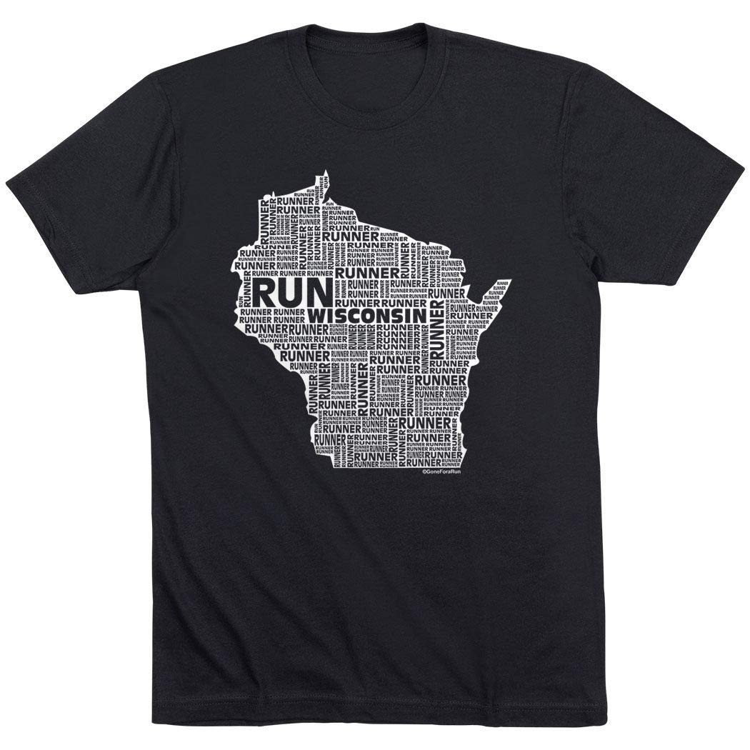 Amazon.com: Wisconsin State Runner estilo de vida playera ...