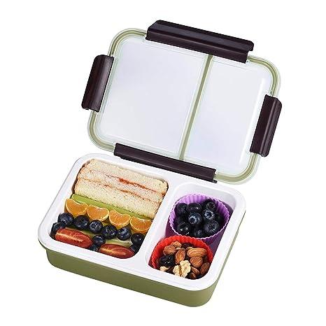 Amazon.com: Bento Box - Caja de almuerzo para adultos y ...