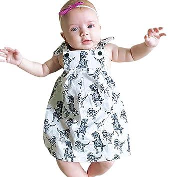 Vestidos niña Bebé Verano ❤ Amlaiworld Ropa Niñas Vestido de princesa sin