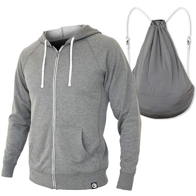 金盒特价 2合1设计 Quikflip 中性款连帽衫 可转换为背包 7折$38.47 三色可选 海淘转运到手约¥334