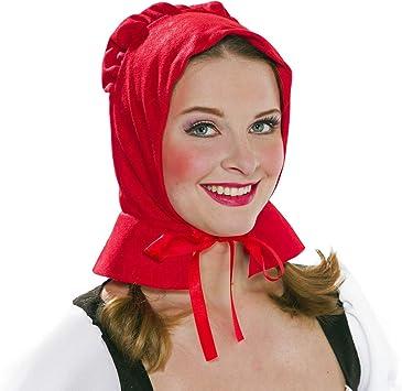 NET TOYS Dulce Gorro Caperucita roja para Mujer - Rojo - Fabuloso ...