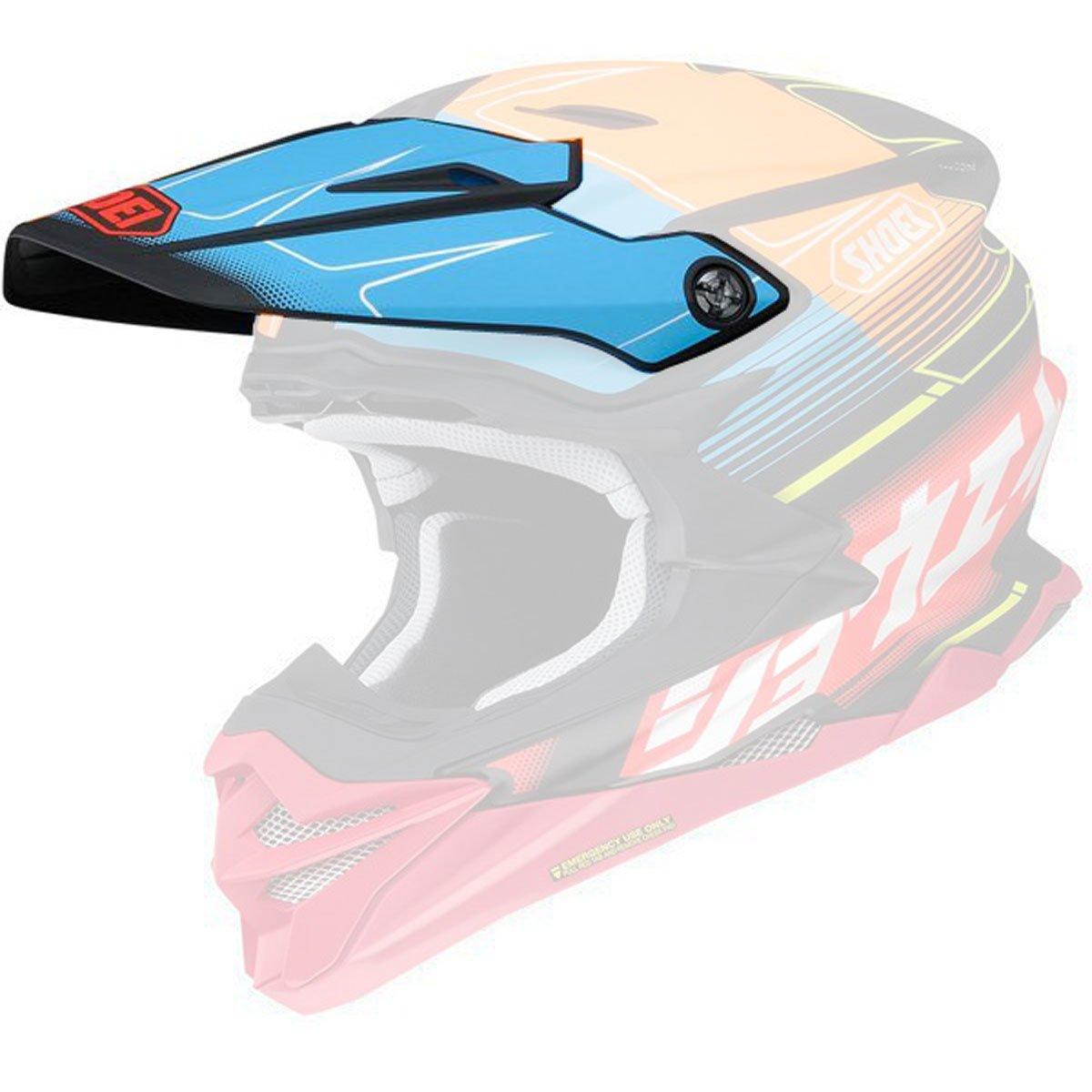 Shoei VFX-Evo Visor Zinger Off-Road Motorcycle Helmet Accessories - TC-10 / One Size