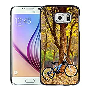 Bike In The Park Hard Plastic Samsung Galaxy S6 G9200 Protective Phone Case