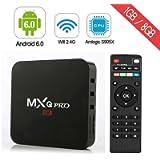 MXQ Pro TV Box Android Amlogic S905X Quad Core Support WiFi LAN Android Box (MXQPRO)