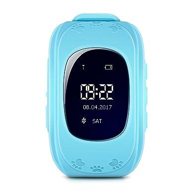 Childrens Smartwatch rastreador reloj para Kid Niño, Niños Reloj Inteligente IOS Android GPS reloj teléfono reloj ...